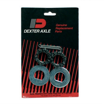Picture of Dexter Axle  Nuts/Washers/Keys K71-321-00 46-3070