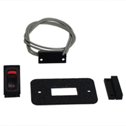 Picture of Kwikee  Black Magnetic Door Switch Kit 369311 47-0489