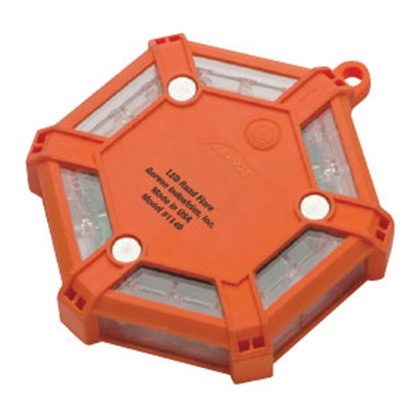 Picture of Averoe  Orange/Red LED Battery Operated Flare 1146 69-0258