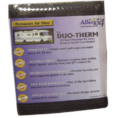 Picture of Allergy 4 Allergy 4 Air Conditioner Filter, Allergy 4, Repl Duotherm Filter 1Pk 06384 69-0265