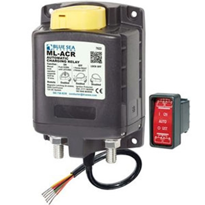 Picture of Blue Sea ML Series 12V 500A Stud Mount Battery Voltage Sensing Relay 7622 69-0586