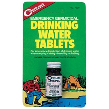 Picture of Coghlan's  50/Bottle Drinking Water Purification Table 7620 69-0722