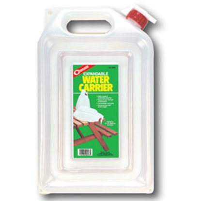 Picture of Coghlan's  2 Gal White Polyethylene Expandable Water Carrier 9223 69-0725