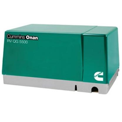 Picture of Cummins Onan Quiet Gasoline (TM) 5500W Gasoline Generator 5.5HGJAB-7103 69-0741