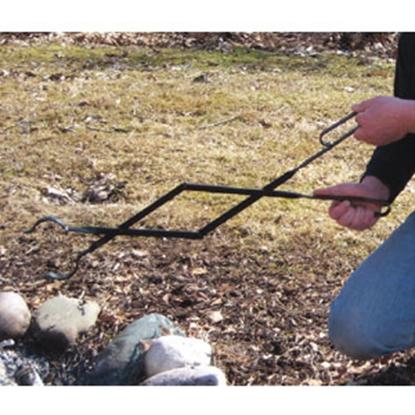 Picture of Campfire Grill Log Tweezers Log Tweezer Campfire Tongs 1061 69-0749