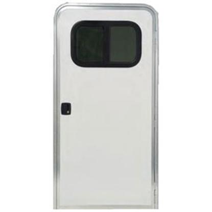 """Picture of Dexter Door  24""""x72"""" RH Entry Door 5050 SQ PW/PW 69-1291"""