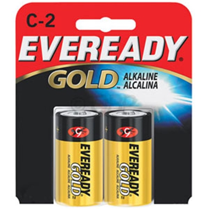 Picture of Eveready Gold (TM) 2-Pack C Gold Alkaline Battery A93-BP-2 69-5095