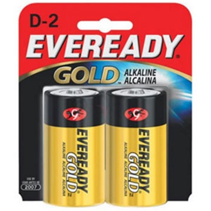 Picture of Eveready Gold (TM) 2-Pack D Gold Alkaline Battery A95-BP-2 69-5096