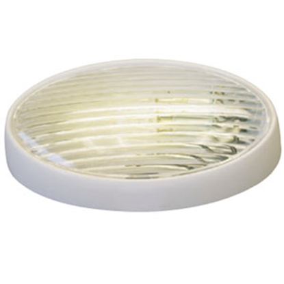 Picture of Gustafson  Clear w/Amber Lens Oval Porch Light w/o Switch AM4033 69-5188