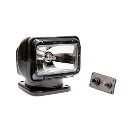 Picture of GoLight Radioray (R) 65W Black Permanent Mount Spotlight 2021 69-5202