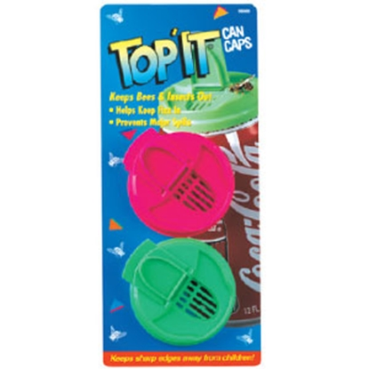 Picture of Jokari  2-Pack Top-It Open Soft Drink Can Protector 05000 69-5480