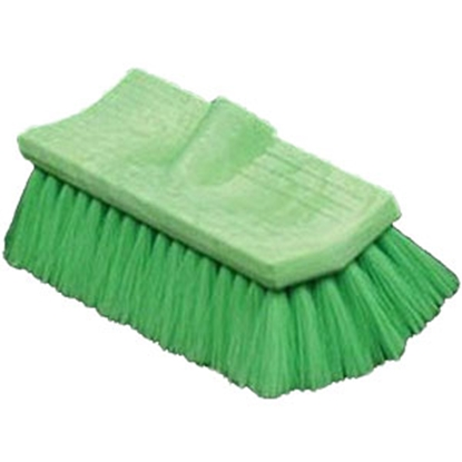 Picture of Mr Longarm  Green Very Soft Bi Level Flo Thru Brush Car Wash Brush 0480 69-6518