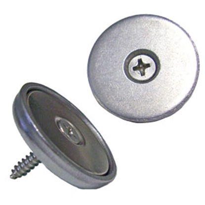 """Picture of Leisure Products Canada  40 lb Pull Flush Mount 1"""" Magnetic Cabinet Latch PM2001LX40 69-6535"""