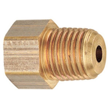 """Picture of MB Sturgis  1/4"""" FIF x 1/4"""" MNPT Brass LP Adapter Fitting 204120PKG 69-6654"""