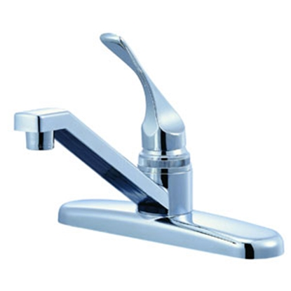 "Picture of Relaqua Relaqua (R) Chrome w/Single Lever 8"" Kitchen Faucet w/Swivel Spout AK-120RC 69-7057"