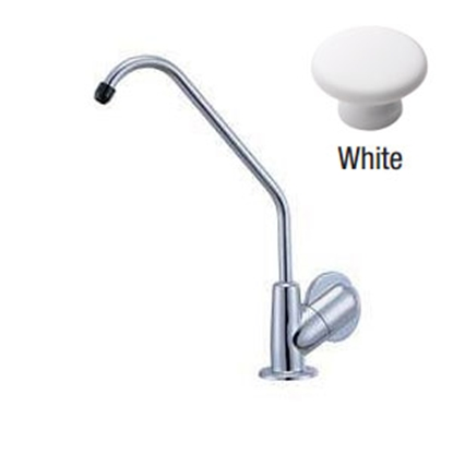 Picture of Relaqua Relaqua (R) White w/Single Knob Kitchen Faucet w/Swivel Spout ALK-9001W 69-7084