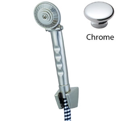 """Picture of Relaqua Relaqua (R) Hand-Held Shower Kit, On-Off, w/ 60"""" Hose, Chrome AS-110C 69-7089"""