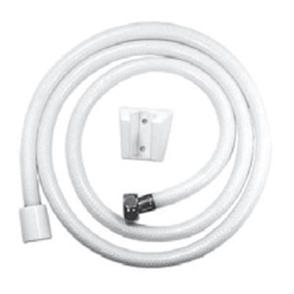 "Picture of Relaqua Relaqua (R) Shower Hose w/ Wall Mount, 60"", White AS-140W 69-7094"