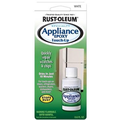 Picture of Rust-Oleum Stops Rust (R) 0.6 Oz Bottle Gloss White Appliance Touch Up Paint 203000 69-7122
