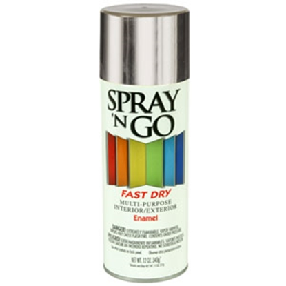 Picture of Rust-Oleum Spray N Go 12 Oz Spray Can Gray Paint 51100830 69-7124