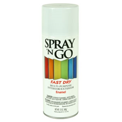 Picture of Rust-Oleum Spray N Go 12 Oz Spray Can White Paint 51103830 69-7125