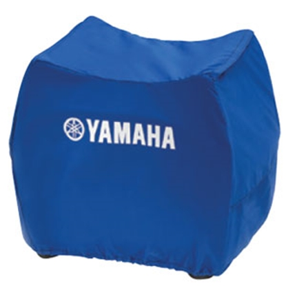 Picture of Yamaha  Blue Generator Cover w/Logo For Yamaha E4500iSE ACCGNCVR4601 69-8116
