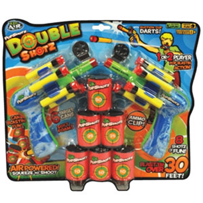 Picture of Zing Toys  Double Shotz Toy ZG574 69-8139