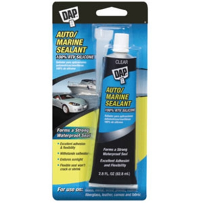 Picture of DAP  Clear 2.8 oz Silicone Caulk 00694 69-8284