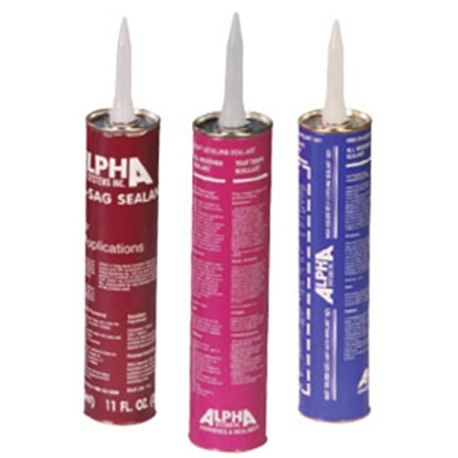 Picture of Alpha Systems  White 11 oz Cartridge Lap Sealant N101001T 69-8347