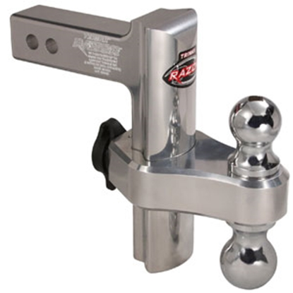 "Picture of Trimax Locks Razor Class III/IV 2"" 10K 8"" Adj Drop/ Lift Steel Ball Mount TRZ8SFP 69-8353"