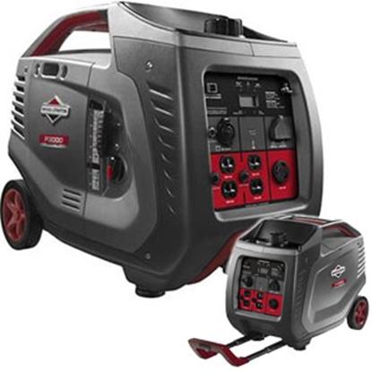 Picture of Briggs & Stratton PowerSmart Series (TM) 3000W Gasoline Recoil Start Inverter Generator 030545 69-8512