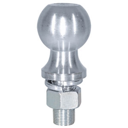 "Picture of Buyer's  5K lbs 2-1/8"" Shank 2"" x 1"" Zinc Hitch Ball 1802135 69-8525"