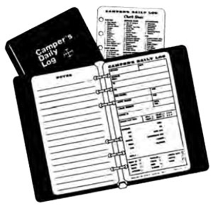 Picture of Camper's Daily Log  Daily Log Refill CDLR 69-8597