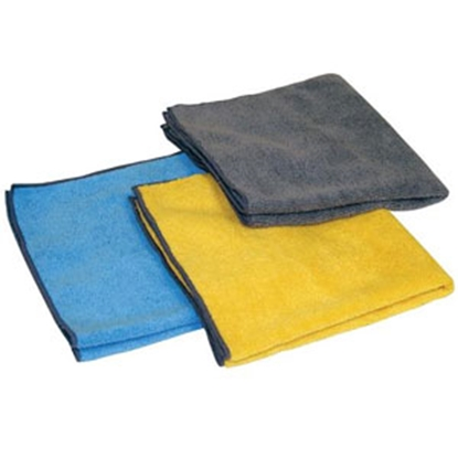 Picture of Carrand  3-Pack Microfiber Towel 16X Polishing Cloth 40061 69-8598