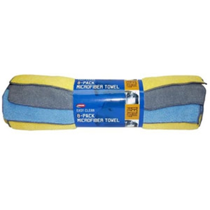 Picture of Carrand  8-Pack Microfiber Towel 14X Polishing Cloth 40062 69-8599