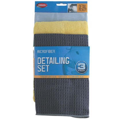 Picture of Carrand  3-Pack Detailng Polishing Cloth 45163 69-8606