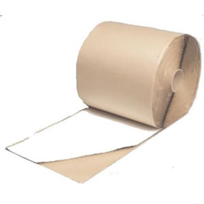 "Picture of Quick Roof  White 12"" x 100' Roll Butyl Roof Repair Tape WRQR12100 69-8647"