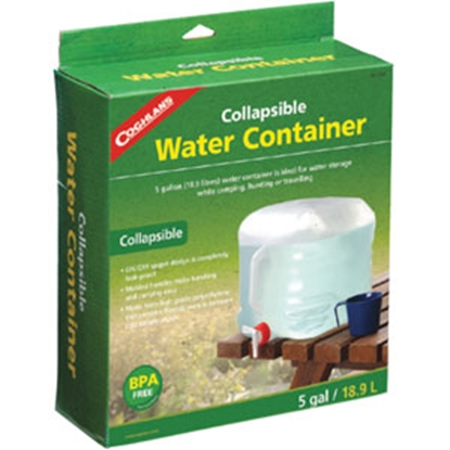 Picture of Coghlan's  5 Gal White Polyethylene Collapsible Water Carrier 1205 69-8649