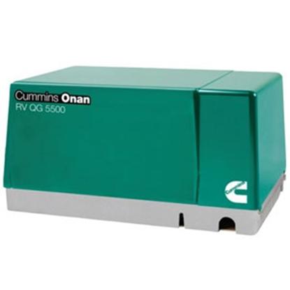 Picture of Cummins Onan Quiet Gasoline (TM) 5500W Gasoline Generator 5.5HGJAB-901 69-8690
