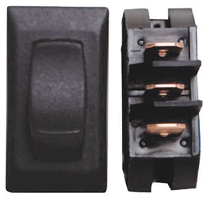 Picture of Diamond Group  3-Piece Black SPST Rocker Switch D1-27U 69-8837