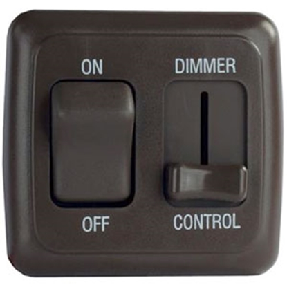 Picture of Diamond Group  White 15A/ 12V Dimmer Switch D3215 69-8839