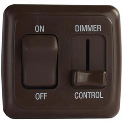 Picture of Diamond Group  Brown 15A/ 12V Dimmer Switch D3218 69-8840
