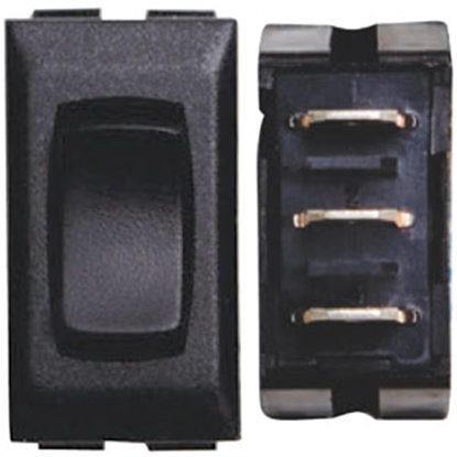 Picture of Diamond Group  3-Pack Black 20A/12V 5-Pin SPST Momentary Slide Out Switch F1-12 69-8842