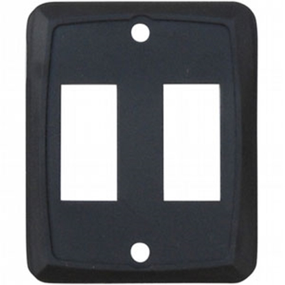 Picture of Diamond Group  3-Pack Black Double Opening Switch Plate Cover P7215 69-8865