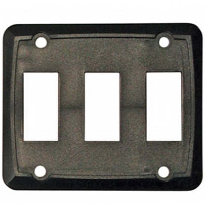 Picture of Diamond Group  3-Pack Black Triple Opening Switch Plate Cover P7315 69-8868