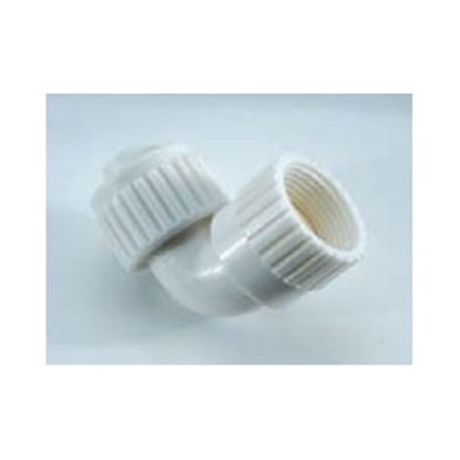 "Picture of Flair-It  3/4"" PEX x 3/4"" FPT White Plastic Fresh Water 90 Deg Elbow 6813 69-9025"