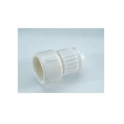 "Picture of Flair-It  1/2"" PEX x 3/8"" FPT White Plastic Fresh Water Straight Fitting 6851 69-9027"