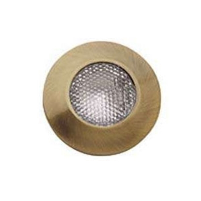 Picture of Gustafson  Antique Brass Flush/Ceiling Mount Halogen Interior Light AM4020 69-9096