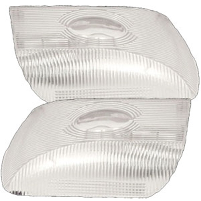 Picture of Gustafson  Clear Rectangular Replacement Dome Light Lens AM4025 69-9099