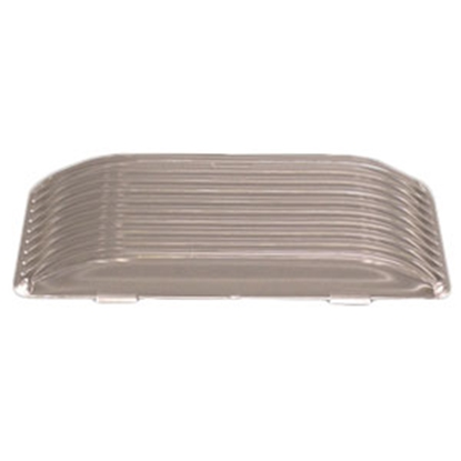 Picture of Gustafson  Clear Rectangular Porch Light Lens for Gustafson AM4017/AM4018 AM4027 69-9100